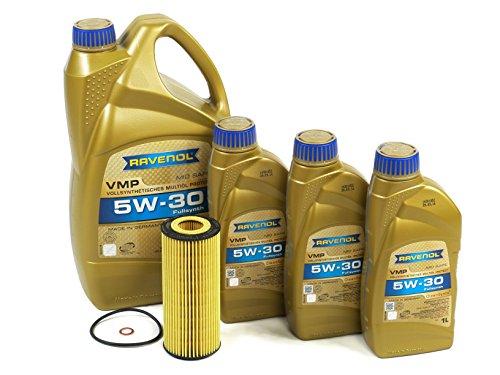 BLAU J1A6100-A BMW 335d Motor Oil Change Kit - 2009-11 w/ 6 Cylinder 3.0L Diesel Engine (Bmw 6 Cylinder)