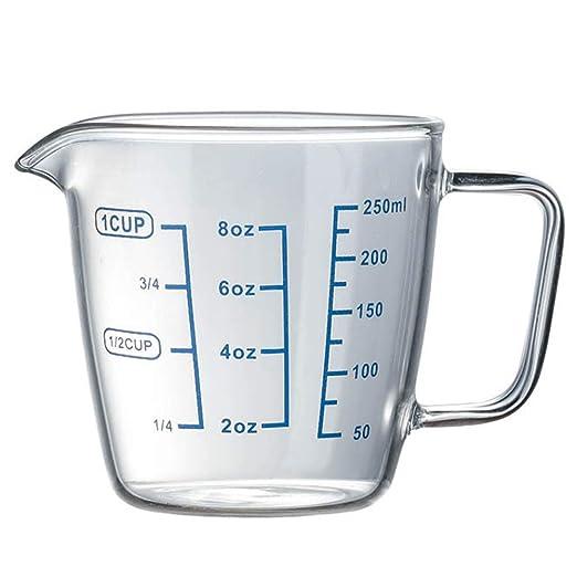 Longyitrade - Vaso medidor de cocina resistente al calor, vaso de ...