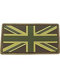 MILSPEC MONKEY BRITISH FLAG PVC MULTICAM PATCH