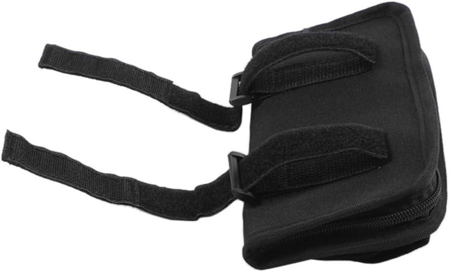 LZTQ Roll Bar Grab Handle Sunglasses Holder Storage Bag for Jeep Wrangler TJ JK JL 1997-2019 Gladiator JT 2020 Car Interior Accessory