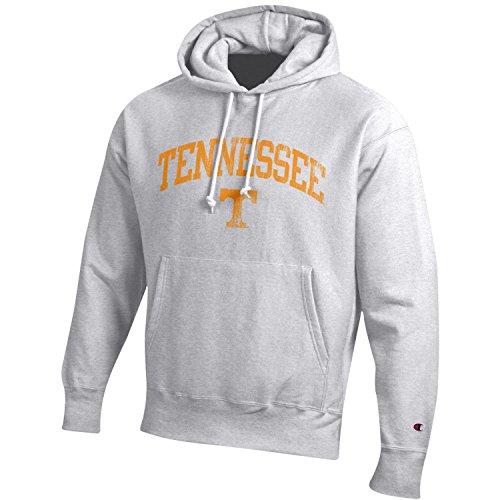 Champion NCAA Tennessee Volunteers Men's Men's Reverse Weave Hoodie, Small, Gray