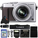 Panasonic PANLX100SL-16GB4PC 16.8 Digital Camera with Optical Image Stabilized Zoom and 3