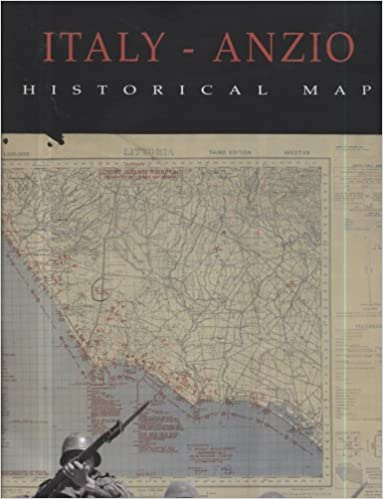 Italy Anzio Historical Map National Geospatial Intelligence Agency