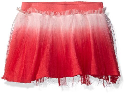 - Flapdoodles Baby Girls Dip Dye Tutu Skirt with Short Under, Coral, 18 Months