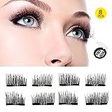 Kyпить Upgraded Double Magnet - Magnetic Eyelashes - 3D Eyelashes (8 pieces) на Amazon.com