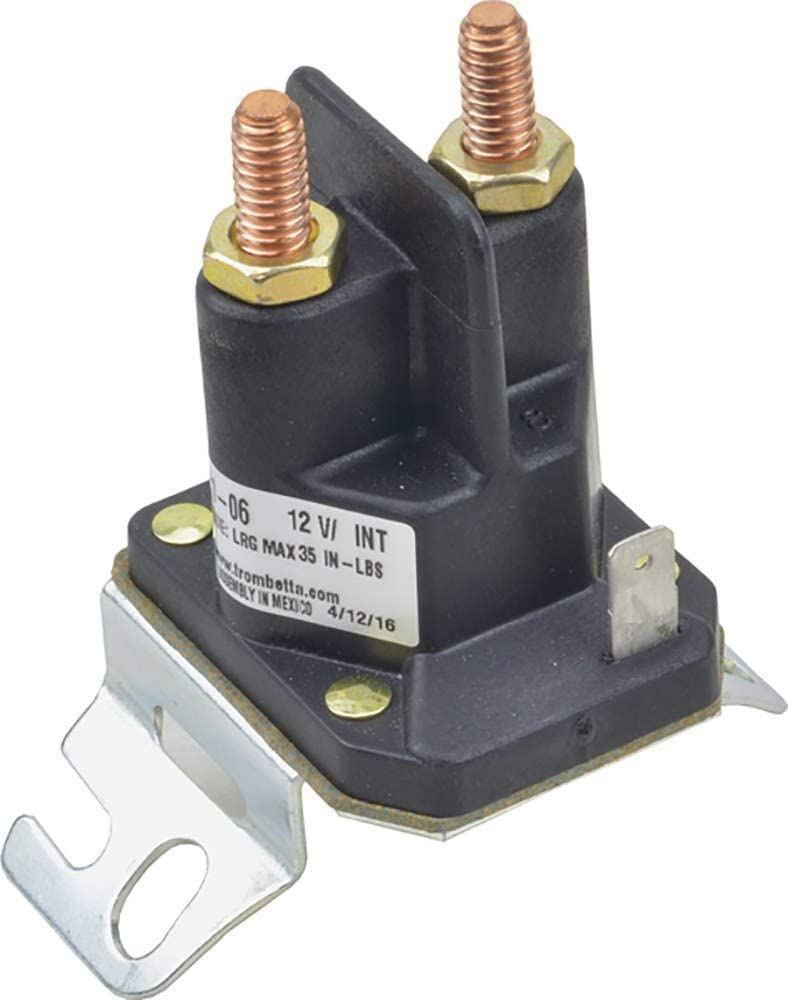 DB Electrical 812-1201-211-06 Solenoid Compatible with/Replacement for 12V 200/300 Amps Briggs & Stratton: 557067, 846820
