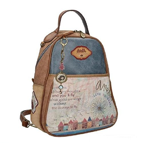 Paseo Backpack Houses Liberty Anekke Oval AXqaT