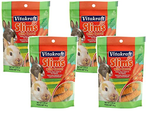 Vitakraft Slims with Carrot for Rabbits - 4 PACK by Vitakraft (Image #3)