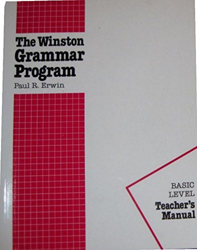 the-winston-grammar-program-basic-level-teachers-manual