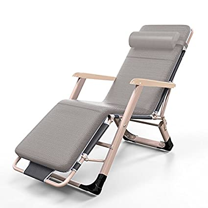Superbe ZLJTYN Lounge Chairs | Oversize XL Zero Gravity Recliner Padded Patio Lounger  Chair With Adjustable Headrest