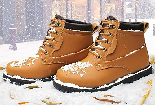 Warm winter boots bare feet outdoor waterproof non-slip rubber sole 46 RL8fHmTlo
