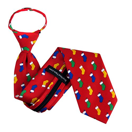 Christmas Zipper Tie - 5