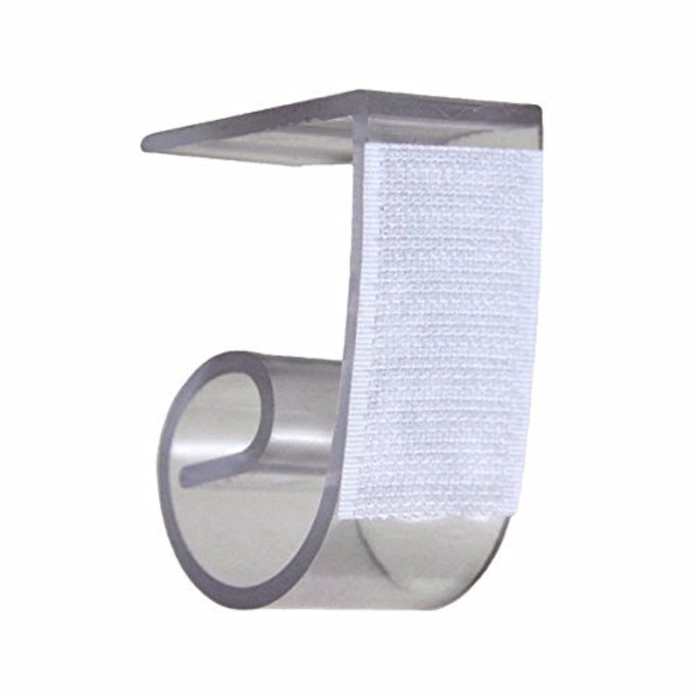 NAVAdeal Table Skirting Clips Tablecloth Clips for Table 1'' - 1 1/4'', 2 Packs of 50 by NAVADEAL