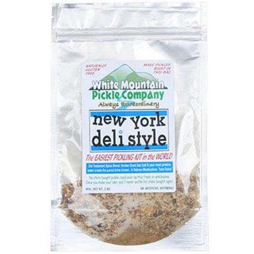 White Mountain Pickle Co. New York Deli Style Half Sour Pickling Kit White Mountain Pickle Company SYNCHKG117570
