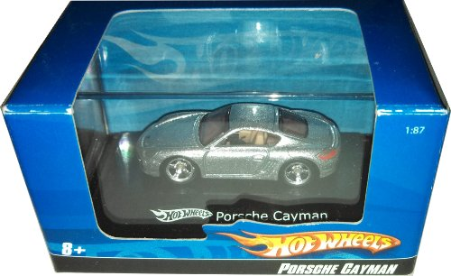 Hot Wheels Silver Porsche Cayman 1:87 - 2007