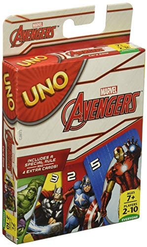 Mattel Games Marvel Avengers UNO Card Game]()