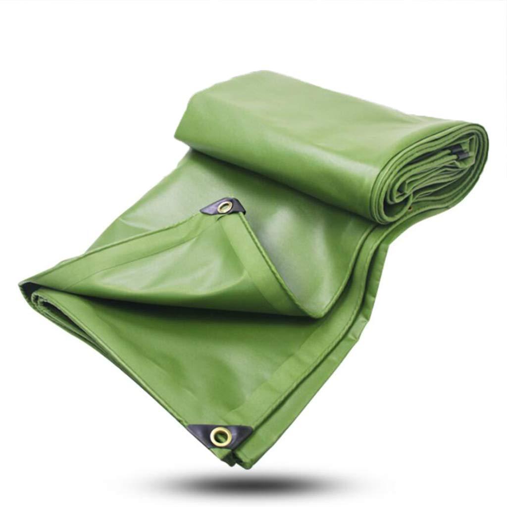 Zeltplanen Regenfeste Plane-Wasserdichte Sonnencreme-Starke Segeltuch-Überdachungs-Plane-Plastiküberzogenes Tuch Im Freien 600G / M2 - Multi-Größe-Optionen (größe : 4x5M)