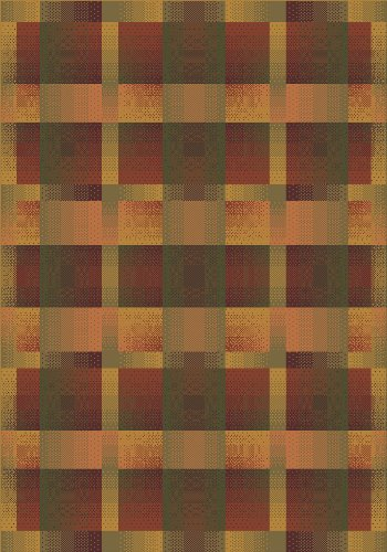 (Modern Times Aura Charcoal Rug Rug Size: Square 7'7
