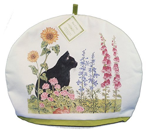 Alices Cottage Insulated Tea Cozy (Black Cat)