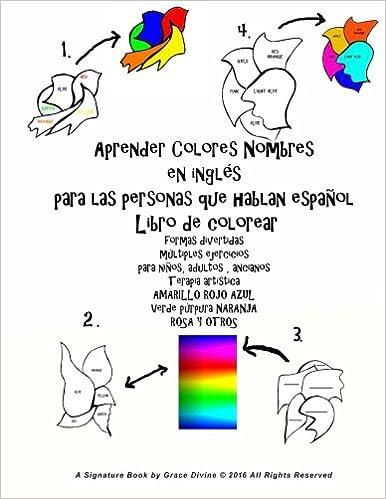 Aprender Colores Nombres En Inglés Para Las Personas Que Hablan