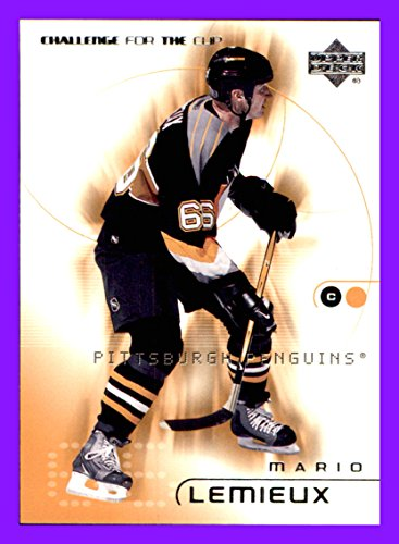 2001-02 UD Challenge for the Cup #68 Mario Lemieux pittsburgh penguins