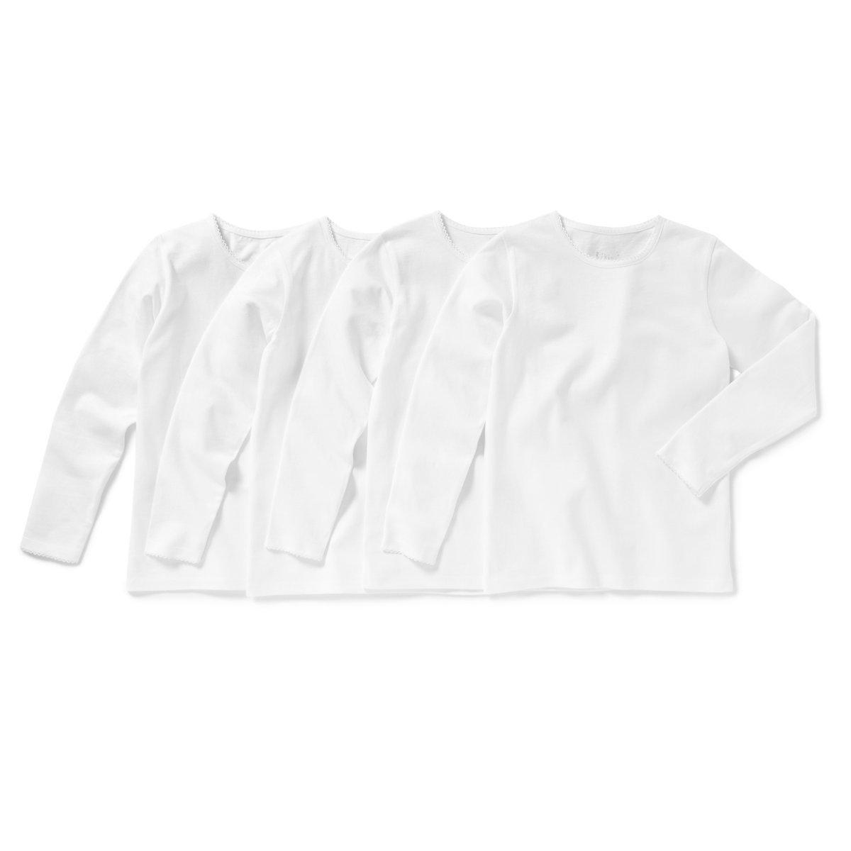 La Redoute Collections Bambina Confezione da 4 Tshirt Maniche Lunghe 3 12 Anni 324513005