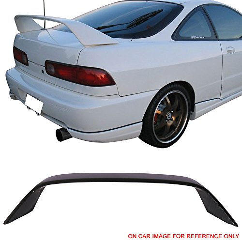 Pre-painted Trunk Spoiler Fits 1994-2001 Acura Integra   TR ABS Painted #G71P Isle Green Pearl Trunk Boot Lip Spoiler Wing Add On Deck Lid Other Color Available By IKON MOTORSPORTS   1995