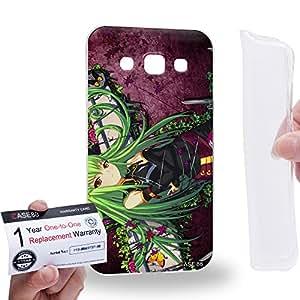 Case88 [Samsung Galaxy E5] Gel TPU Carcasa/Funda & Tarjeta de garantía - CODE GEASS Lelouch of the Rebellion C.C. 1268
