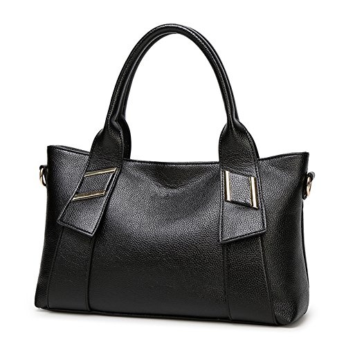 Noir fonctionnel Packet Portable Handbags Womens Main à Zonlin Sac Sacs Mesdames Dames Multi à Bandoulière Messenger Sac tx0aBw