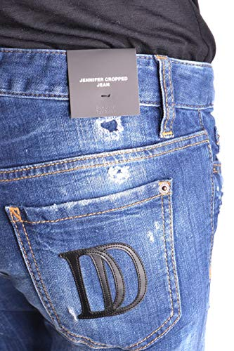 Donna Blu Cotone S72lb0117s30342470 Dsquared2 Jeans ZcqF88