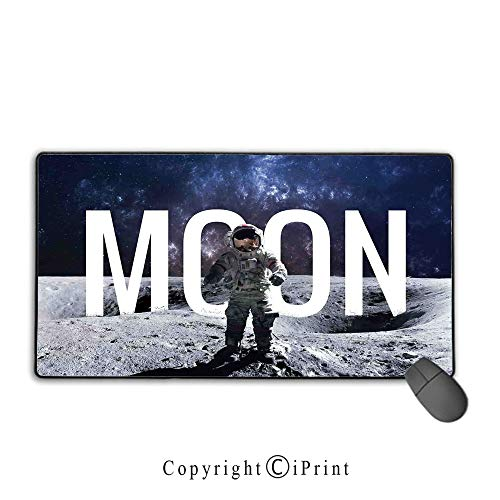 Non-Slip Rubber Base Mouse pad,Outer Space Decor,Miniature for sale  Delivered anywhere in USA