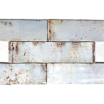 Brick Blanco 2 X 10 Quot Off White Handmade Look Rustic