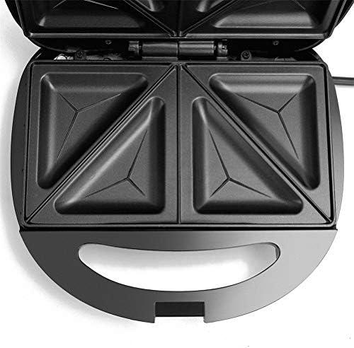 Knowooh Grille-Sandwich, Grille-Pain Sandwich, Grille-Pain électrique |750 Watts |Thermostat |Revêtement antiadhésif