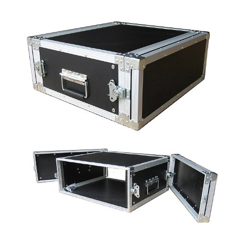 4 Space 4u 16 Inches Deep Medium Duty 1/4 Inch ATA Effects Rack Case - Closeout by Roadie Products, Inc.