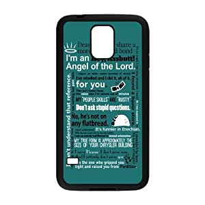 Danny Store Supernatural Quotes Protective TPU Rubber Back Fits Cover Case for Samsung Galaxy S5 by runtopwell