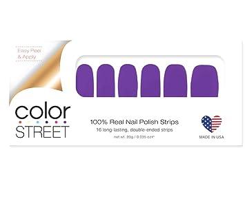 Amazon Com Color Street Nail Polish Strips Saigon Queen Clemson