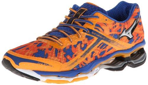 Mizuno Men's Wave Creation 15 Running Shoe,Orange,8.5 D US