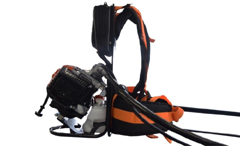 Desbrozadora de mochila Echo RM 520ES.La más potente de la gamma ...