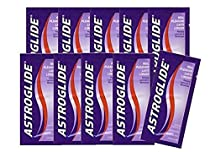Astroglide Original Personal Liquid Lube Lubricant and Moisturizer Enhance the Pleasure of Intimate Activity [Travel Set and Easy to Use]: Size 0.14 Oz. / 4 Ml (Pack of 20)