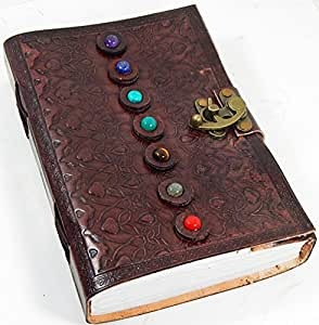 Amazon.com: Barner Books 6 X 9 Embossed Tri-fold Leather