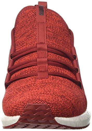 Puma Herren Mega Nrgy Knit Cross-trainer Rot (rosso Dalia-fiamma Scarlatto-puma Nero)