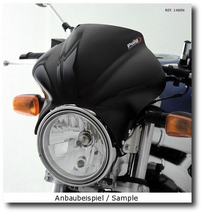 Saute vent Puig Cockpit Suzuki GSX 1400 01-07 fum/é clair