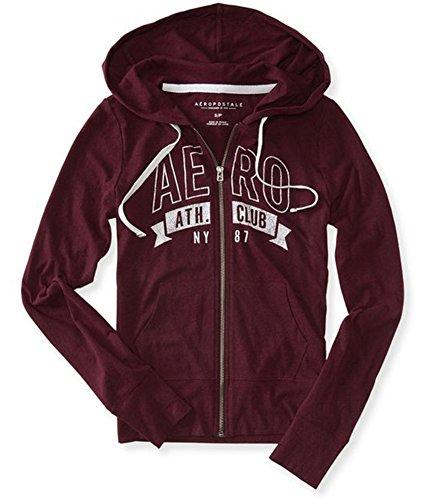 Aeropostale Womens Ath. Club NY87 Hoodie Sweatshirt 607 (Aeropostale Hoodie)