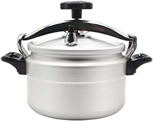 Stainless Steel Pressure Cooker Large Capacity Explosion-Proof Induction Cooker Gas Universal Extra Large Restaurant Pressure Cooker (Size : 9L)