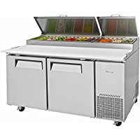 Turbo Air TPR-67SD-N, 67 Wide Pizza Prep Table