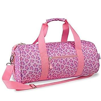 Amazon.com : Sassy manchas de leopardo bolsa de lona, ??Rosa ...