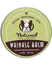 Natural Dog Company Wrinkle Balm Tin, Cleans and Protects Dog Wrinkles and Skin Folds, Perfect for Bulldogs, All Natural, Organic Ingredients