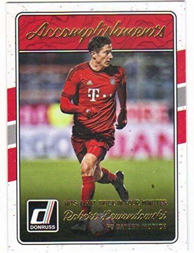 2018-19 Donruss Elite Series Soccer #6 Robert Lewandowski FC Bayern Munich Official Panini Futbol 2018//2019 Trading Card