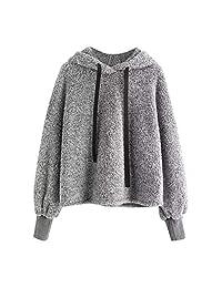 Clearance Women Hoodie Sweatshirt Long Sleeve Warm Winter Coat Jacket Outwear