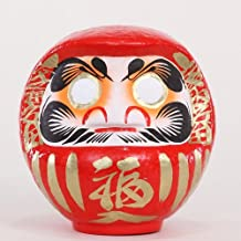 Daruma Fortune Doll (23cm, Round Shape, Made in Japan)